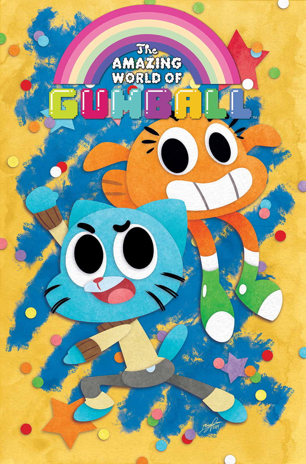 The Amazing World of Gumball #1 Cover A