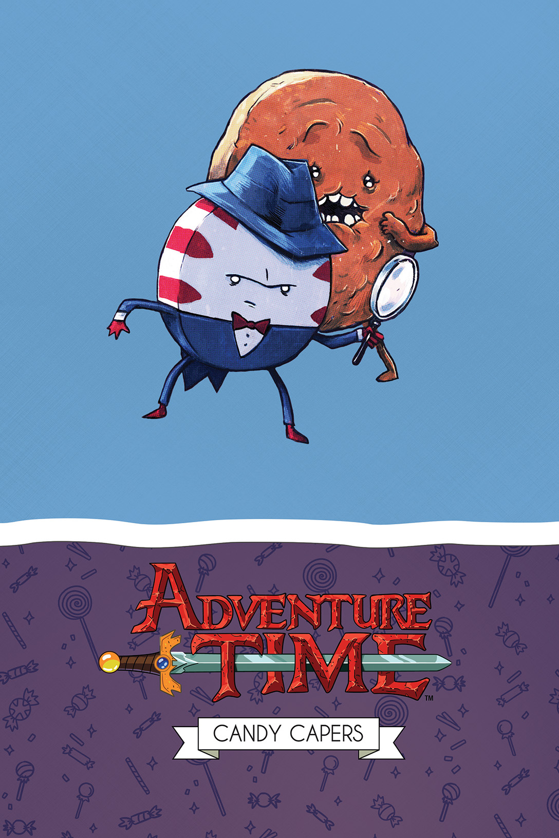 Adventure Time: Candy Capers Mathematical Edition HC Cover Design by Jillian Crab