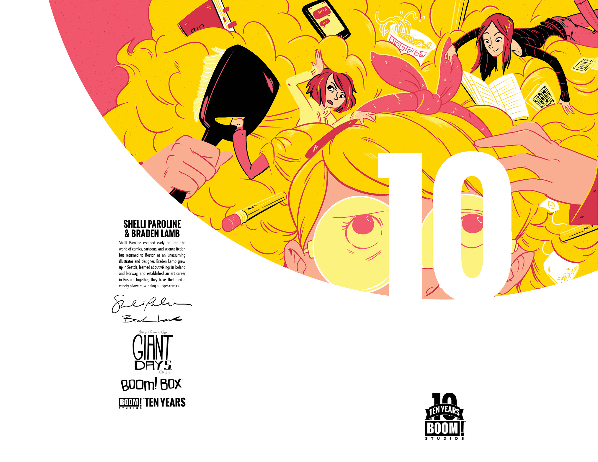 Giant Days #1 10 Years Incentive Cover