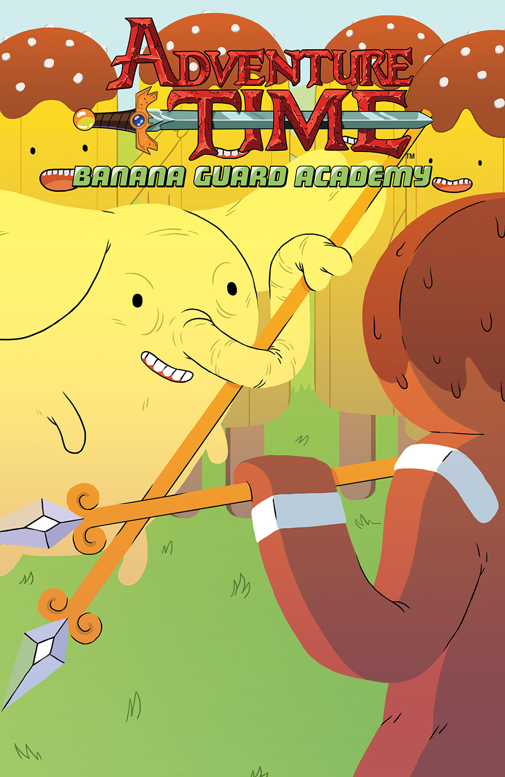 ADVENTURE TIME: BANANA GUARD ACADEMY #4 Cover A