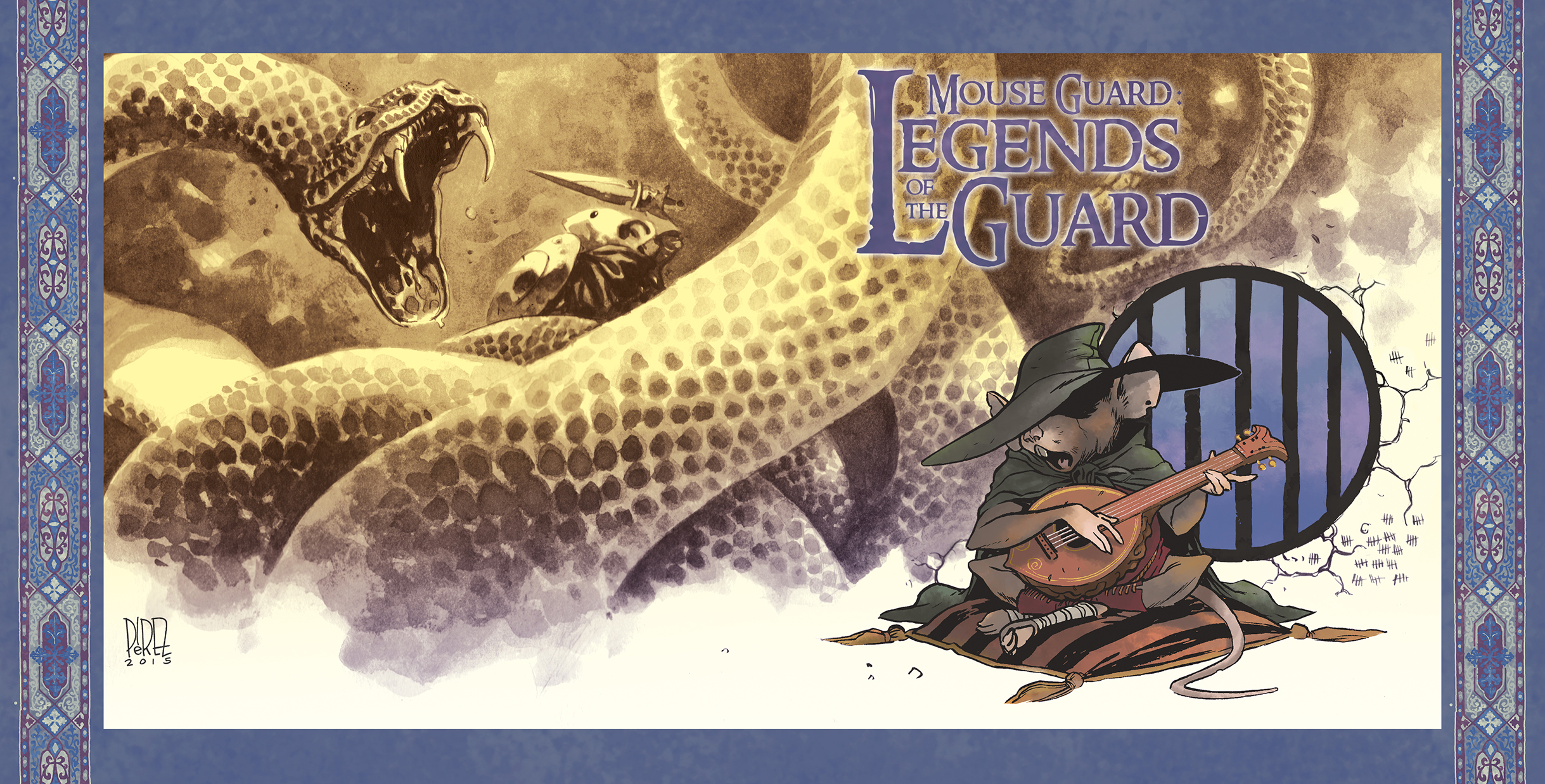 MG: Legends of the Guard Vol. 3 #1 10 Years Cover