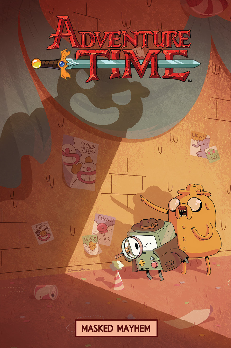 Adventure Time: Masked Mayhem OGN