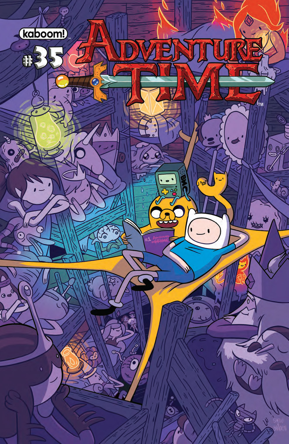 Adventure Time #35 FOC Cover