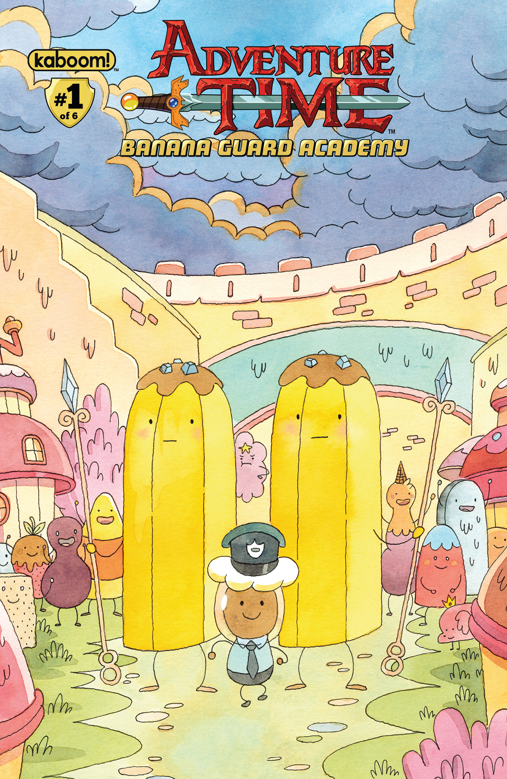 AT: Banana Guard Academy #1 Cover B