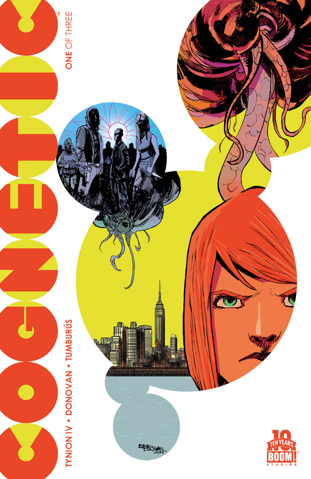 Cognetic #1 Main Cover