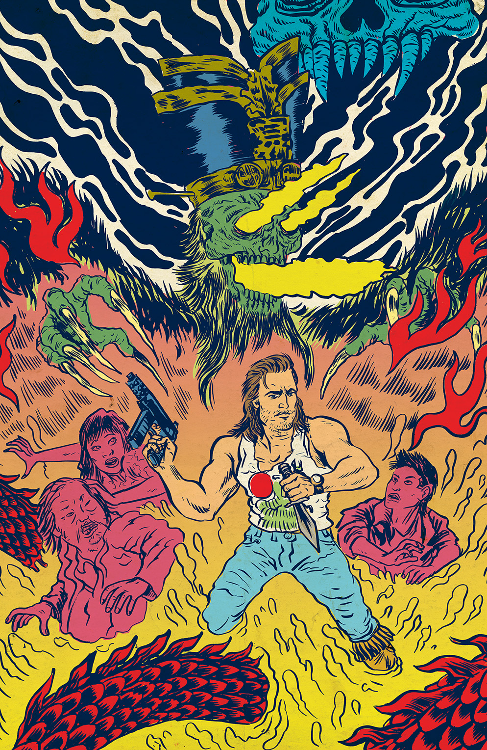 BIG TROUBLE IN LITTLE CHINA #5 Cover B