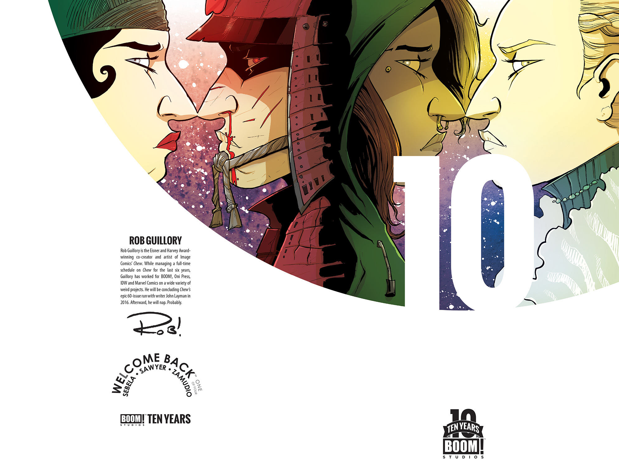 Welcome Back #1 10 Years Cover