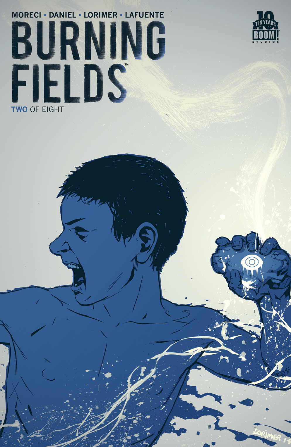 Burning Fields #2 2nd Print Cover