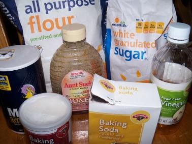 Bake Sale Ingredients