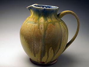 Ash Glazed Pitcher