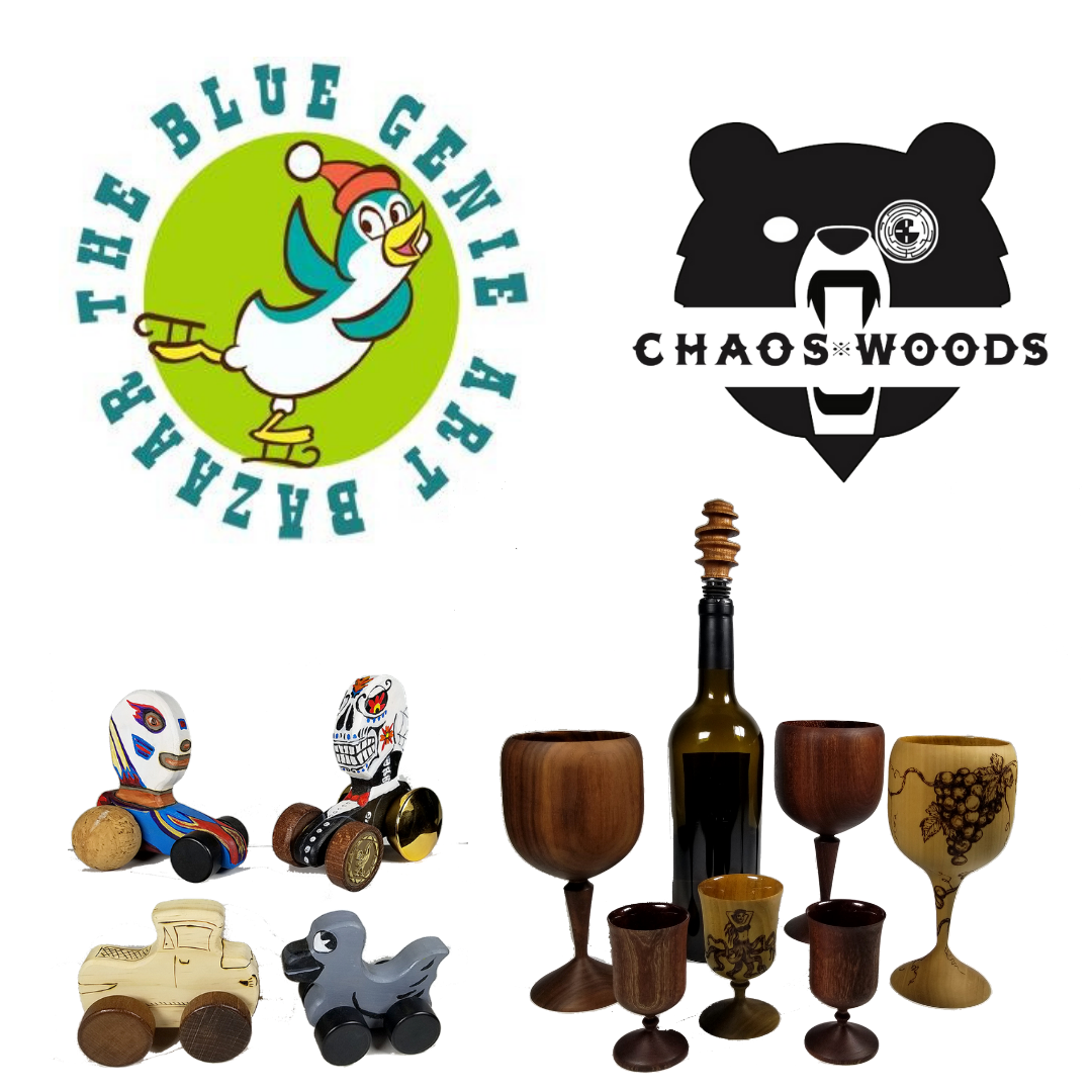 Original works ranging from serious art to fun, kitschy items! Shopping at the Bazaar is a great way to buy holiday gifts in a hassle-free environment, all while supporting local artists.
