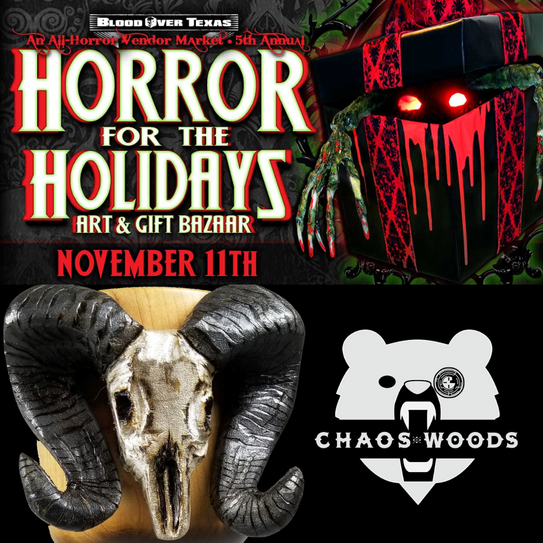All-horror vendor market holiday art and gift bazaar