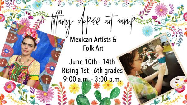 Tiffany Dupree Art Camp