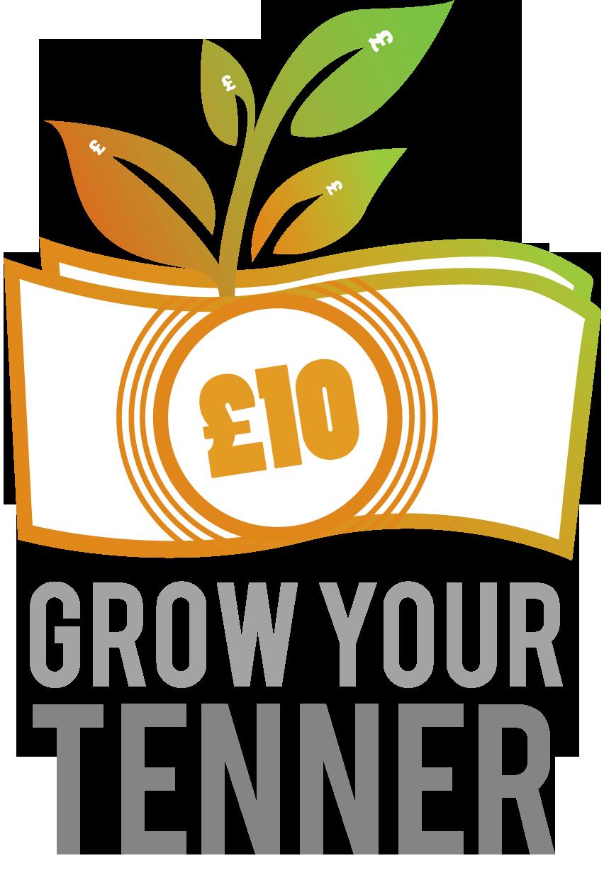 Grow your Tenner logo