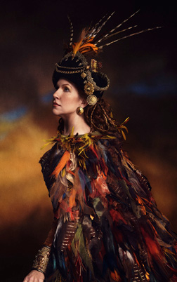 "Joyce DiDonato plays Sycorax in the Met Opera ""The Enchanted Island."""