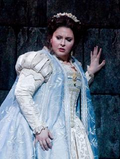 "Angela Meade stars as Elvira in Verdi's early gem ""Ernani"" on February 25."