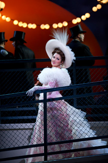 """Anna Netrebko dazzles as """"Manon"""" on April 7."""