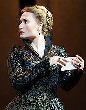 "Marina Poplavskaya plays Elisabeth in ""Don Carlo"" on December 11."