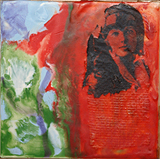 """""""Victorian,"""" an encaustic work by Robyn Anderson, is one of the pieces in the Runyan Gallery exhibition."""
