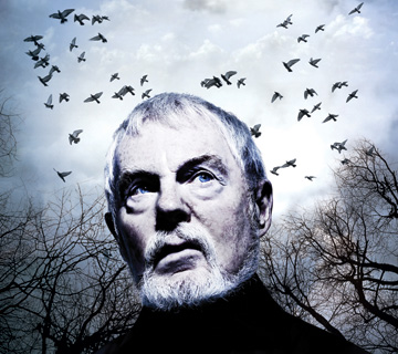 Derek Jacobi plays King Lear in the Donmar Warehouse production of Shakespeare's classic.