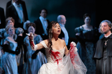 Natalie Dessay is Lucia di Lammermoor, set for 10 a.m. Saturday, March 19.