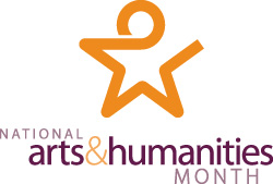 October is National Arts & Humanities Month.