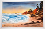 Yaquina Art Association's annual member show is open in the Runyan Gallery in February.