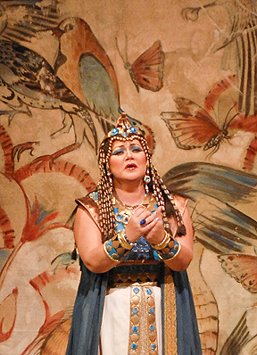 "Olga Borodina stars as Amneris in ""Aida,"" set for Dec. 15."