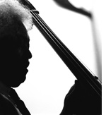 Jazz photography by Homer Clark graces the Performing Arts Center lobby during Jazz at Newport 2011.