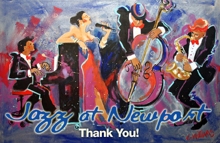 Thanks for attending Jazz at Newport this year! Please let us know about your experience: take the survey!