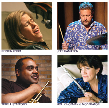 Find out more about jazz at the free panel discussion on Saturday, October 1.