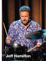 Jazz drummer Jeff Hamilton will perform at Jazz at Newport.