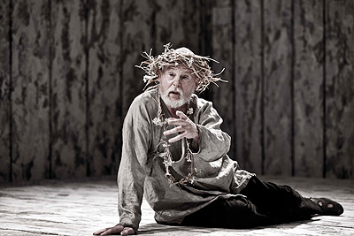 "Derek Jacobi stars in Donmar Warehouse's production of ""King Lear,"" at the PAC on Feb. 18."
