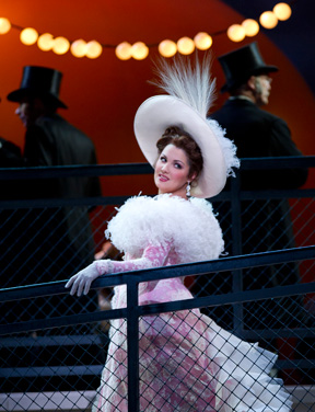 "Anna Netrebko dazzles in Massenet's ""Manon,"" one of two operas showing at the PAC in April."