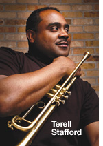 Renowned trumpet-player and educator Terell Stafford is one of four guests at the interactive jazz panel on Saturday.