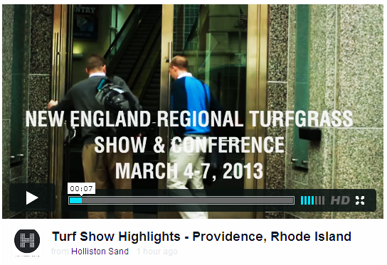 NEW ENGLAND REGIONAL TURFGRASS SHOW & CONFERENCE