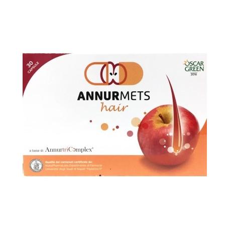 6 confezioni Annurmets Hair 30 Compresse Integratore per Capelli
