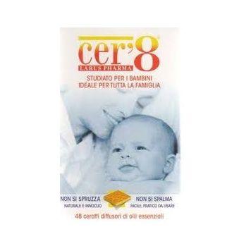 Cer8 Zanzare 48 Cuscinetti antizanzare