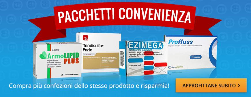 Pacchetti Convenienza: compra più confezioni dello stesso prodotto e risparmia!