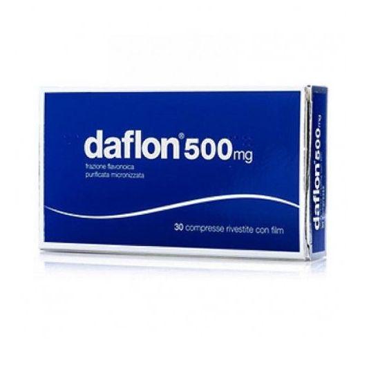 Daflon 30 Compresse 500 mg Emorroidi e Insufficienza Venosa