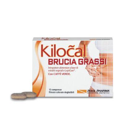 Kilocal Bruciagrassi 15 Capsule Integratore per Dimagrire