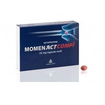 Momentactcompi 10 capsule 25 mg farmaco per il dolore