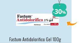 Fastum Antidolorifico 1%gel 100 g