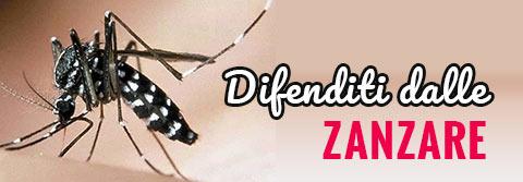 Difenditi dalle zanzare