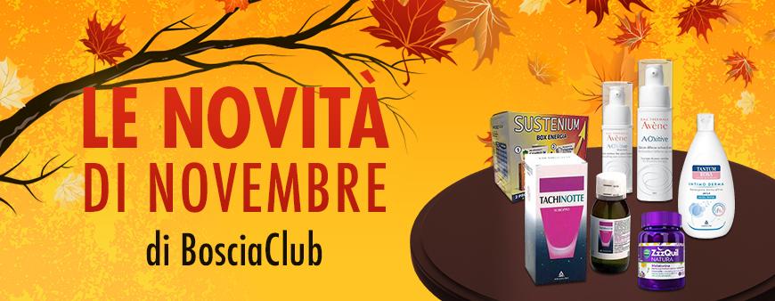 Le novità di novembre di Bosciaclub