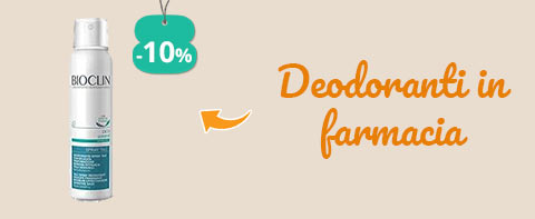 Deodoranti in farmacia