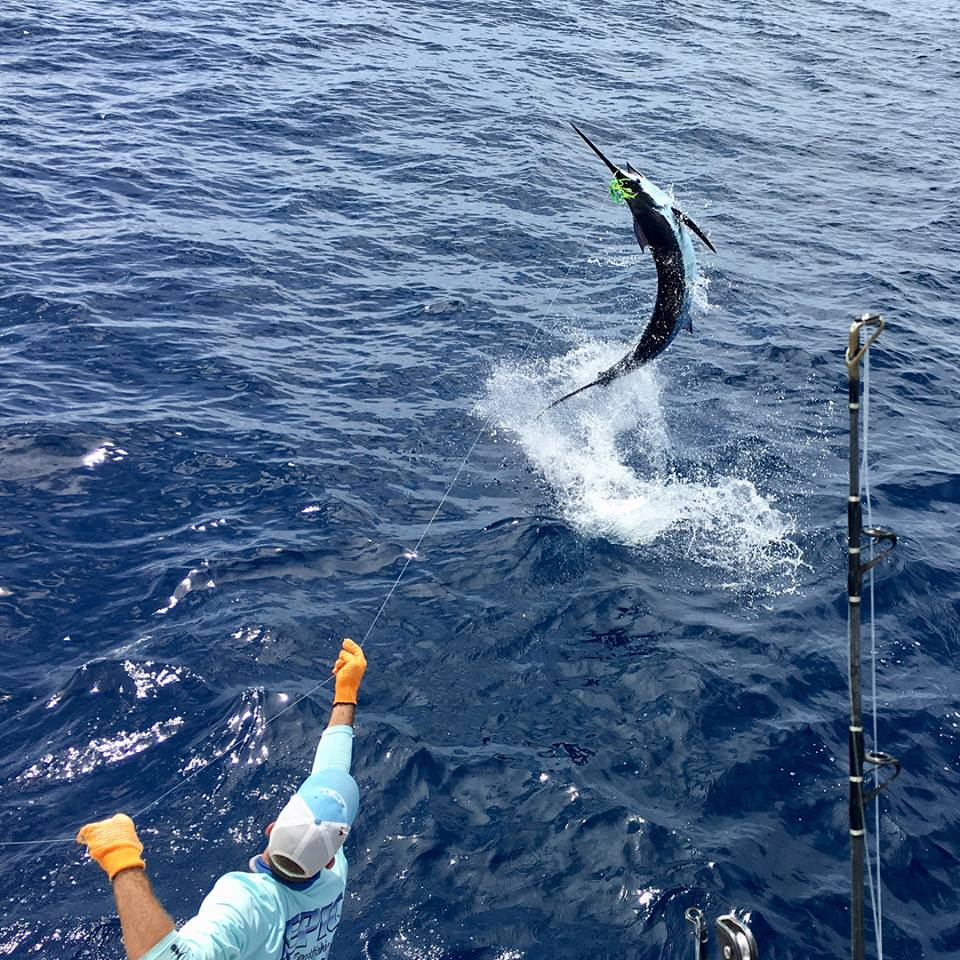 Costa Rica Fishing Report - July 2018