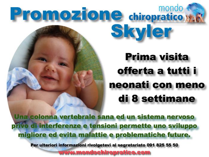 Flyer promozione Skyler
