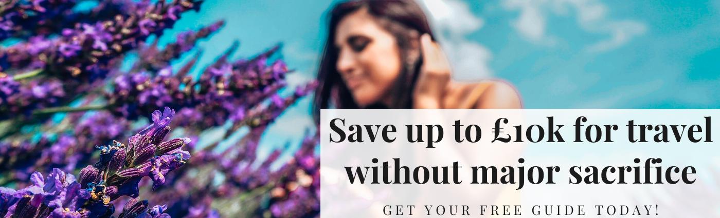 FREE guide to saving £10k