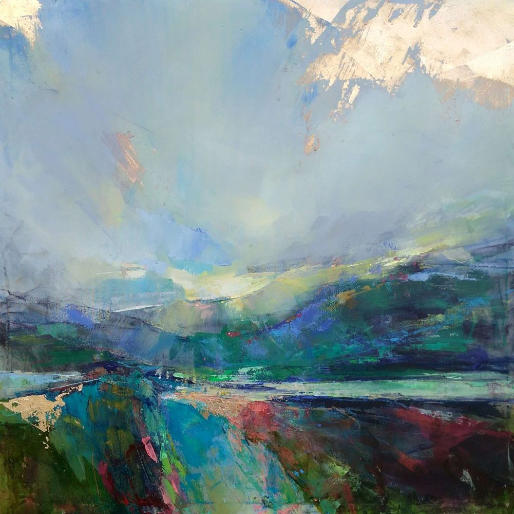 Contemporary abstract landscape